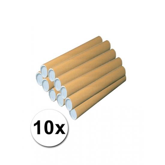 10 kartonnen hobby kokers 50 cm