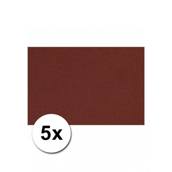 A4 hobby karton bordeaux 5 stuks