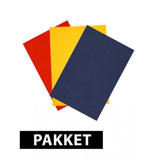 A4 hobby karton primaire kleuren 6 stuks