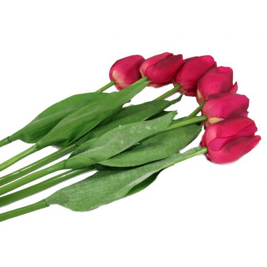 Bosje roze tulpen 48 cm