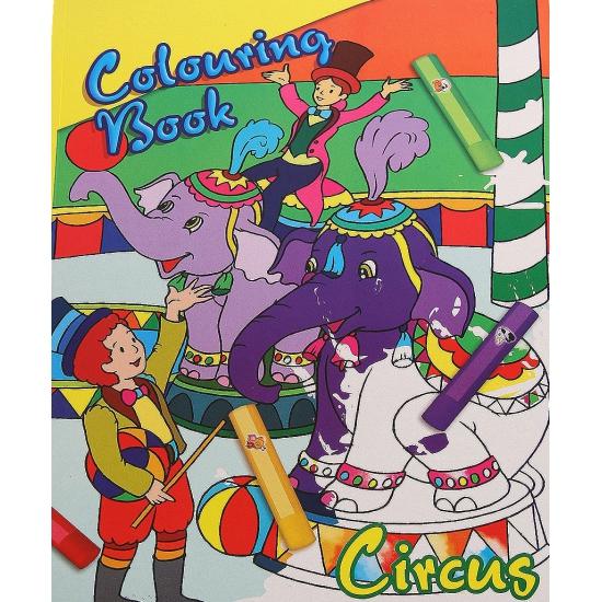 Circus kleurboek