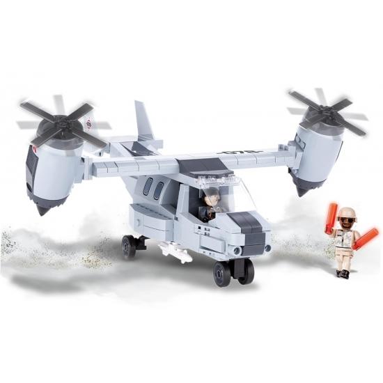 Cobi verticaal vliegtuig bouwstenen set