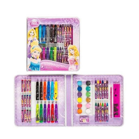 disney prinsessen kleurkoffer 51 delig