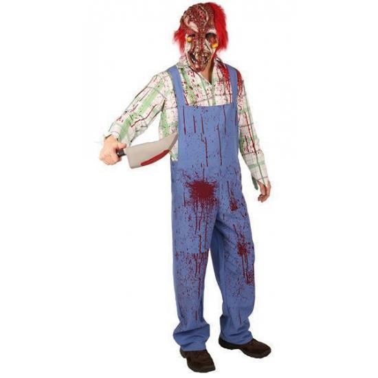 Halloween - Bloederig zombie kostuum