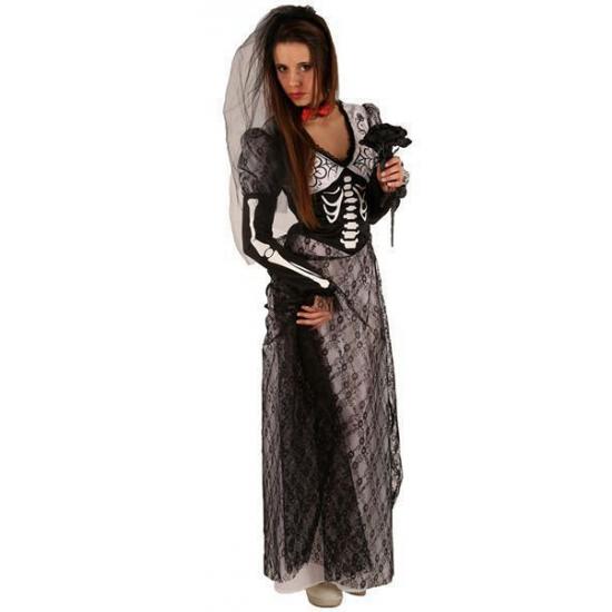 Halloween - Halloween kostuum zombie bruid