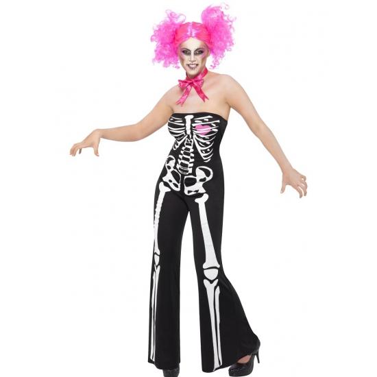Halloween - Skelet jumpsuit voor dames