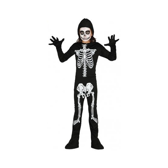 Halloween - Skelet jumpsuit voor kinderen