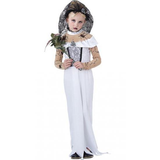 Halloween - Zombie bruid kostuum voor meisjes