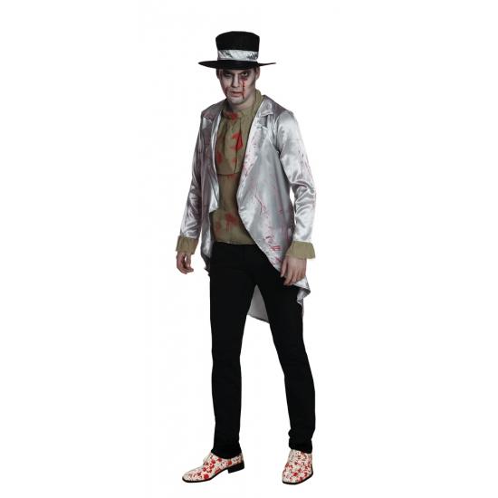 Halloween - Zombie bruidegom kostuum voor heren