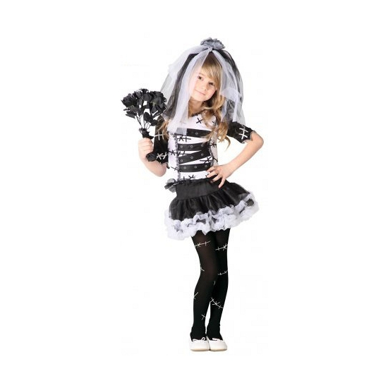 Halloween - Zombie bruidsjurk voor meisjes