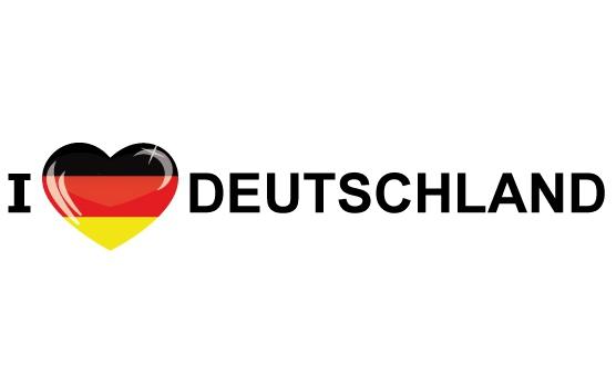 I Love Deutschland sticker