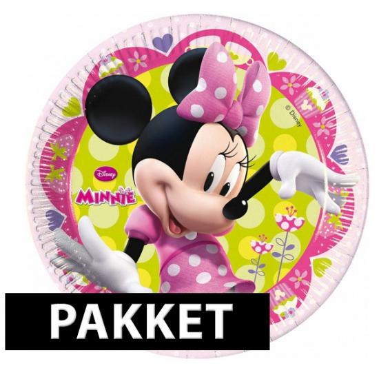 Minnie Mouse kinderfeest pakket
