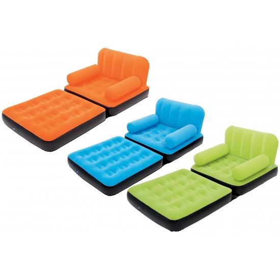 Opblaasbare sofa met leuning