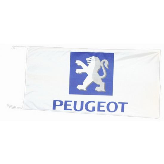 Peugeot vlag 150 x 75 cm
