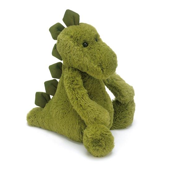 Pluche dino knuffel groen 21 cm