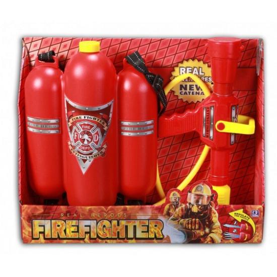 Rode speelgoed brandblusser