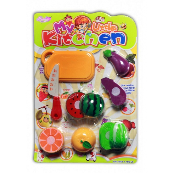 Speelgoed fruit set 10 delig