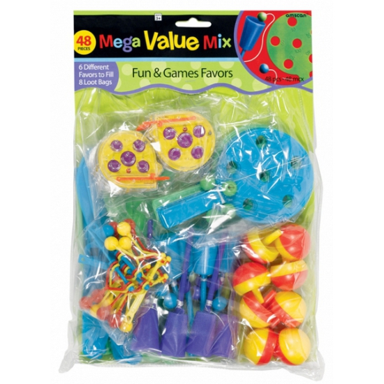 Speelgoed Grabbelton Cadeautjes 48 Stuks Bellatio kopen