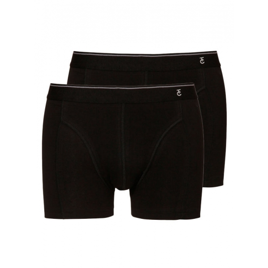 TC Tender Cotton zwarte shorty 2-pak