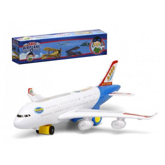 Wit Speelgoed Vliegtuig Met Licht En Geluid Bellatio kopen