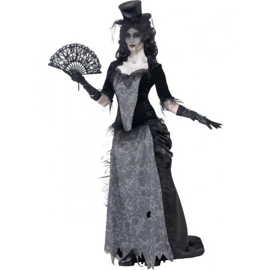 Zwarte weduwe Halloween kostuum