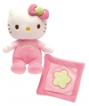 Pluche Hello Kitty met tutteldoekje