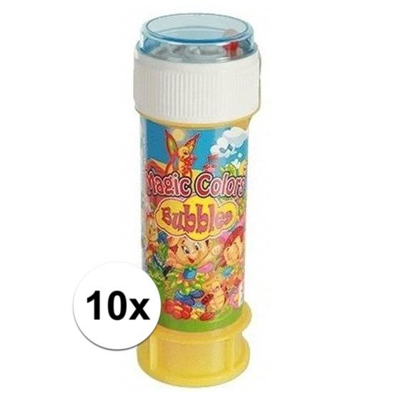 10x Bellenblaas met spelletje 60 ml
