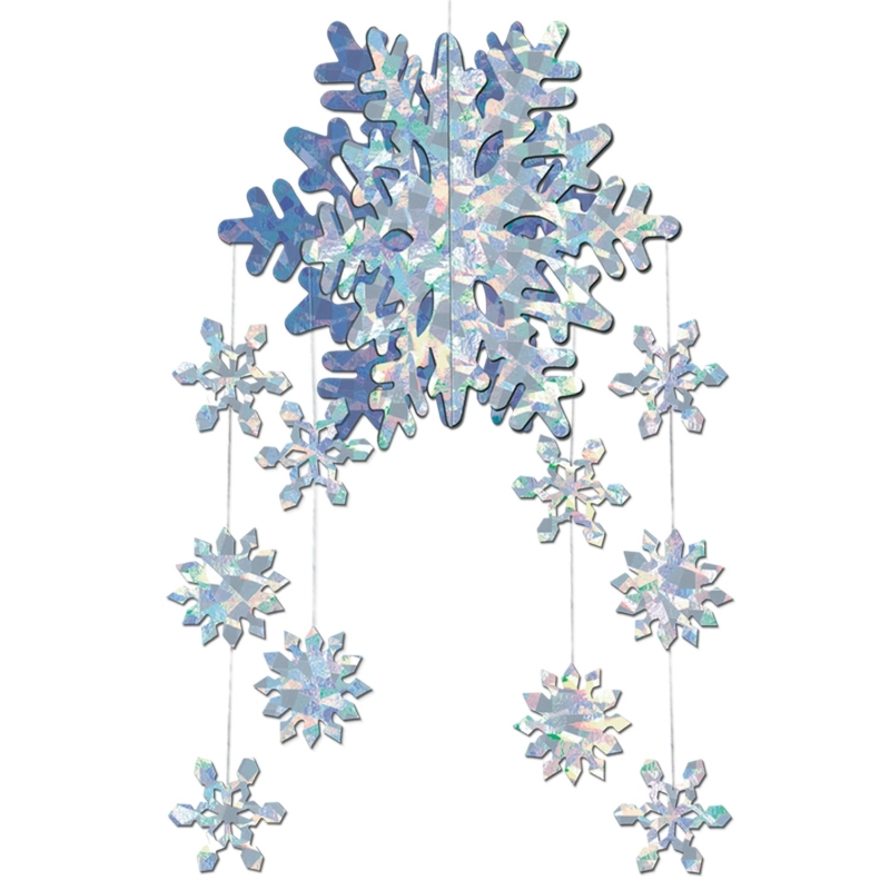 3D sneeuwvlok hangdecoratie