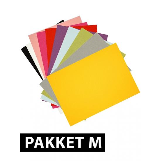 A4 hobby karton gekleurd 32 stuks