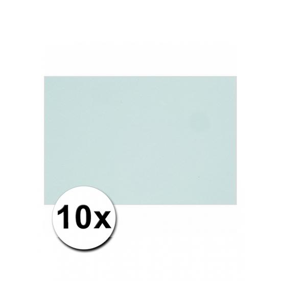 A4 hobby karton lichtblauw 10 stuks