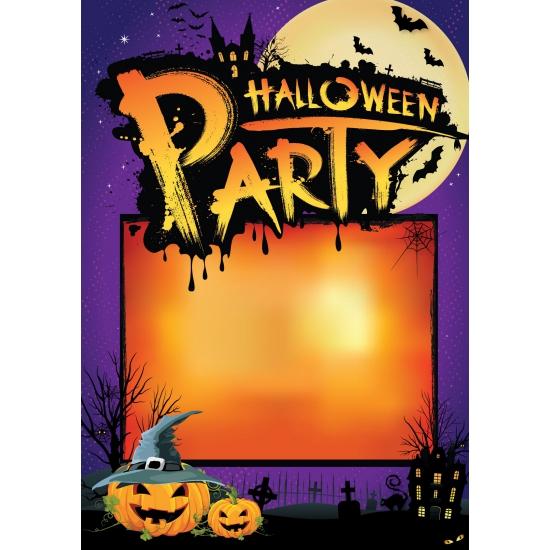 Aankondigingsposter Halloween