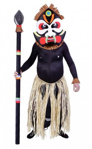 Afrikaanse medicijnman kostuum