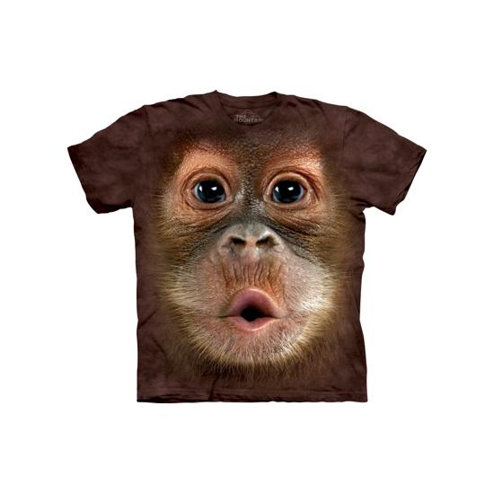The Mountain Apen T shirt Orang Oetan T shirts en poloshirts