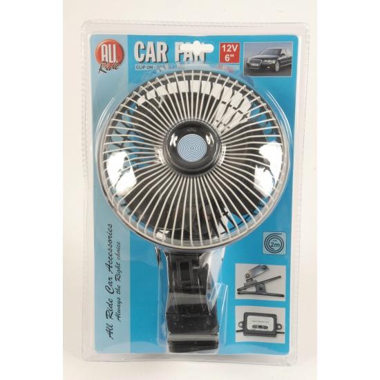 Auto ventilator met 12V aansluiting