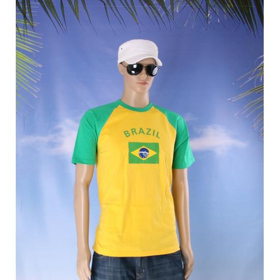 Baseball heren shirt Brazilie Shoppartners nieuw