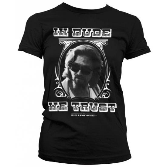 T shirts Bellatio Big Lebowski shirt dames zwart