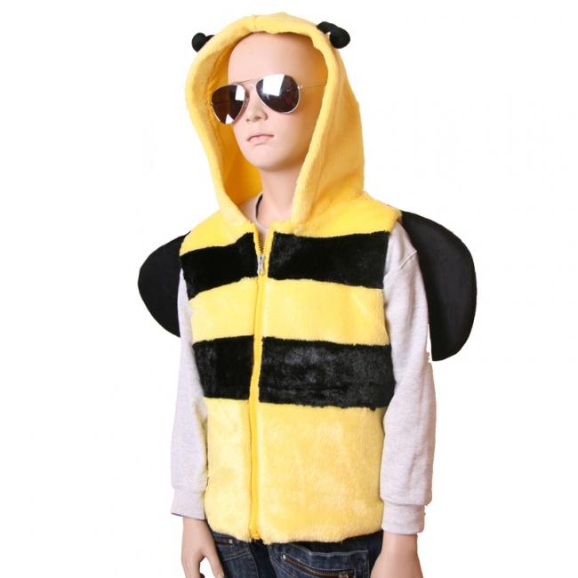 Dierenpakken Bijen bodywarmer voor kids