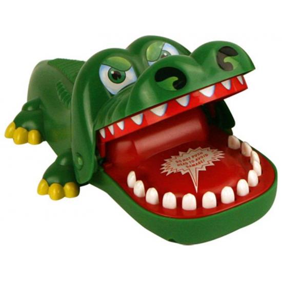 Bijtende krokodil spel