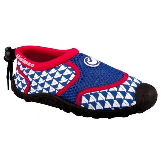 Schoenen en laarzen Waimea Blauw met rode kinder waterschoenen