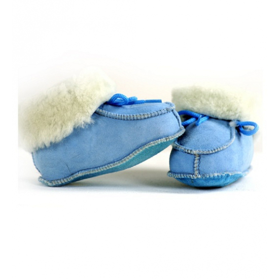 Bernardino Blauwe baby sloffen Sloffen en Pantoffels