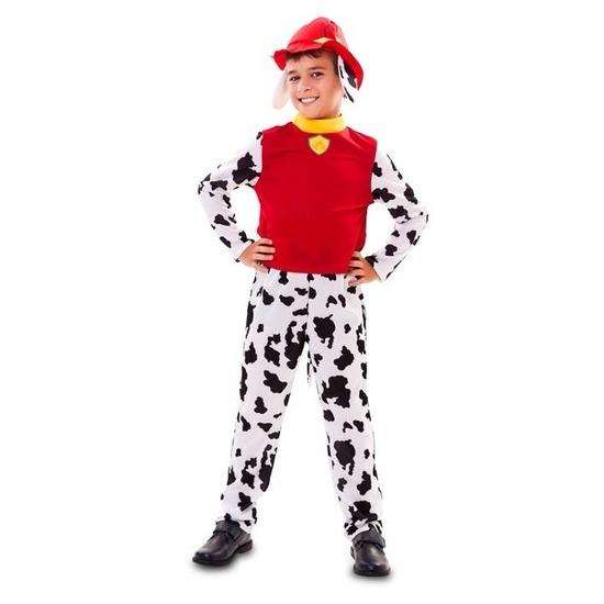 Brandweer hond kostuum voor jongens