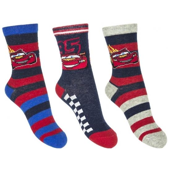 Disney Cars jongens sokken 3 pak nr 2 Sokken en Panty's