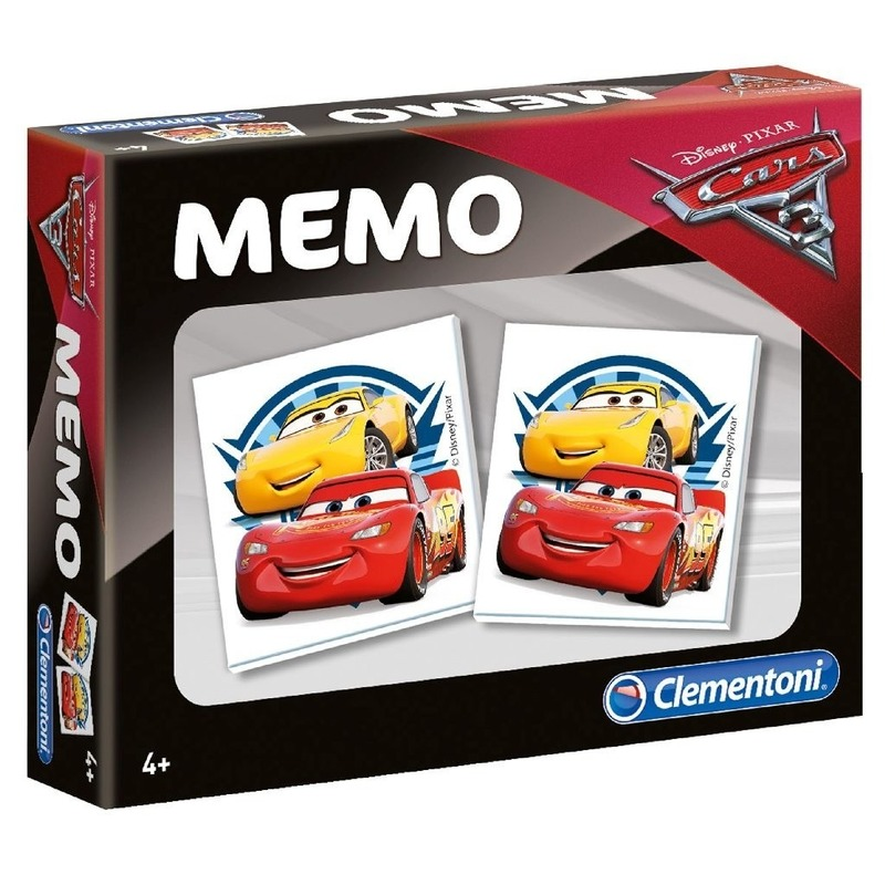 Cars memory spel speelgoed