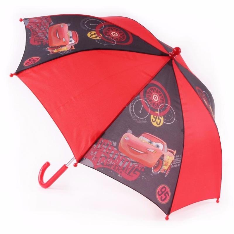 Cars paraplu rood Disney laagste prijs