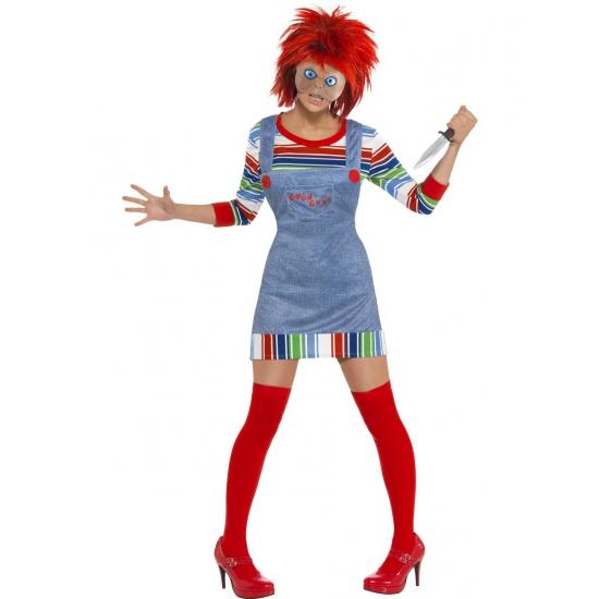 Chucky kostuum voor dames