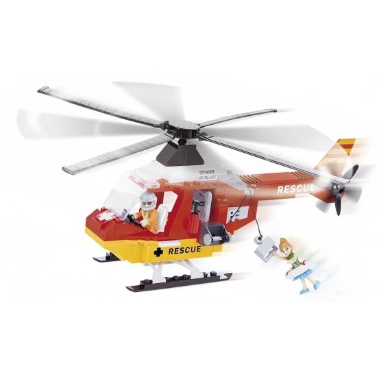 Cobi reddingshelikopter bouwstenen set