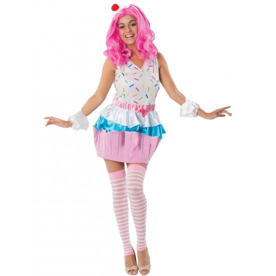 Cupcake kostuum voor dames