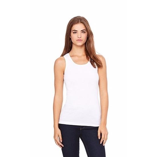 T shirts en poloshirts Bella Dames tanktop wit