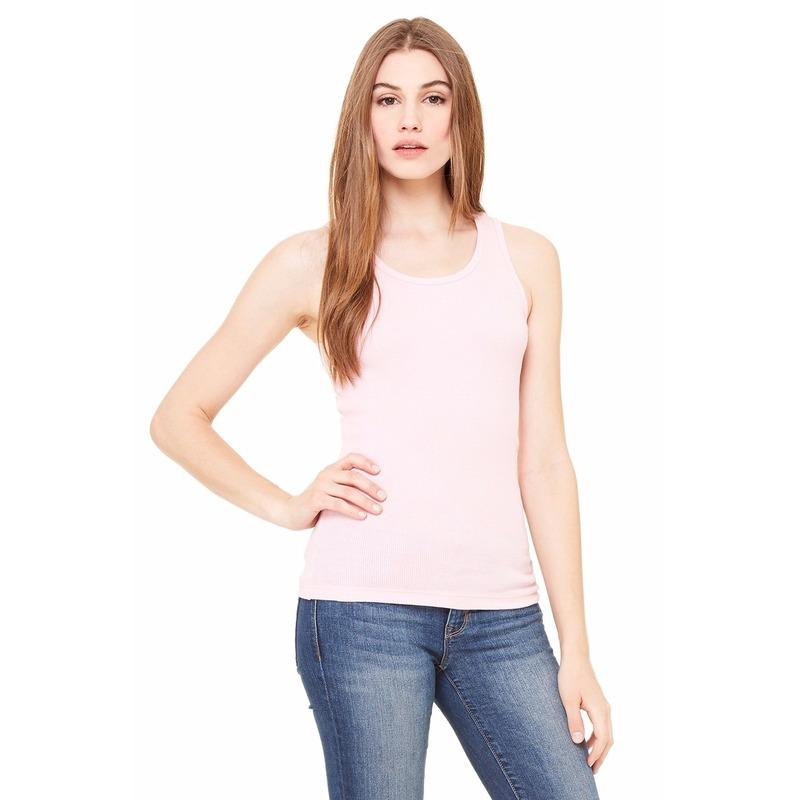 T shirts en poloshirts Dames topje Bella lichtroze