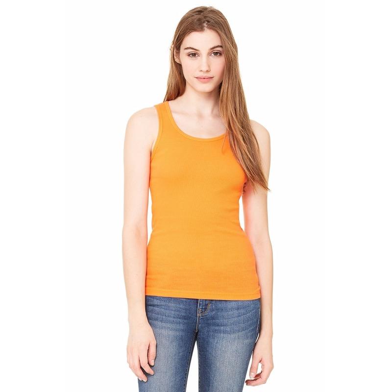 Dames topje Bella oranje Bella Hoge kwaliteit